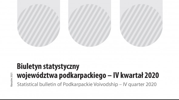Statistical Bulletin of Podkarpackie Voivodship IV quarter 2020